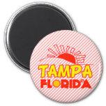 Tampa, la Florida Imán De Frigorifico