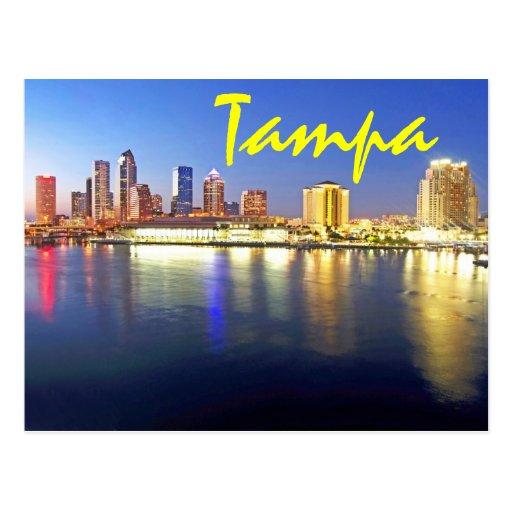 Tampa, la Florida, los E.E.U.U. Tarjeta Postal