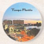 Tampa la Florida Posavasos Cerveza