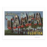 Tampa, letra ScenesTampa, FL de FloridaLarge Postales