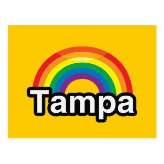 TAMPA LGBT PRIDE RAINBOW POSTCARD
