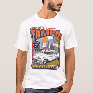 Tampa Police Department Vintage T-Shirt