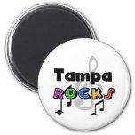 Tampa Rocks Refrigerator Magnet