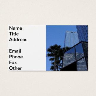 Tampa Skyscraper Business Card