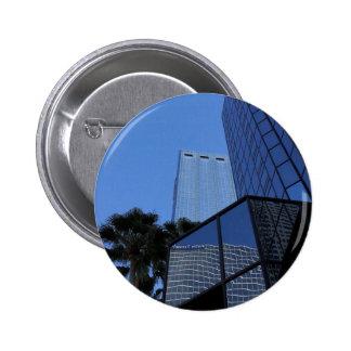 Tampa Skyscraper Pinback Button
