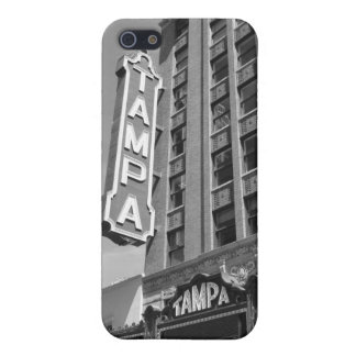 Tampa Theatre iPhone 5 B&W Photo Cell Phone Case iPhone 5/5S Covers