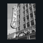 "Tampa Theatre Theater Black and White Photo Canvas<br><div class=""desc"">11&quot;x14&quot; photo canvas of a black and white photo of the historic Tampa Theatre.  Other sizes available by changing settings.</div>"