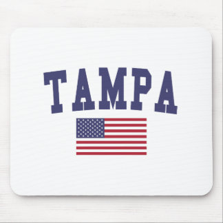 Tampa US Flag Mouse Pad