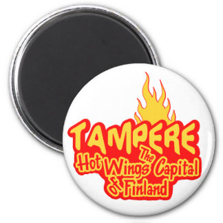 Tampere Hot Wings magnet