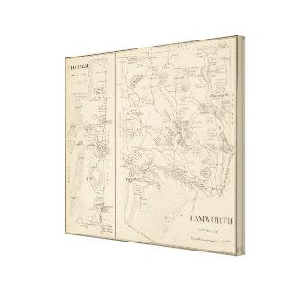 Tamworth, Carroll Co Impresiones En Lona Estiradas