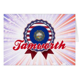 Tamworth, NH Tarjetón