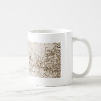 Tamworth old map mug