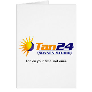 Tan24 Sonnen Studio Card