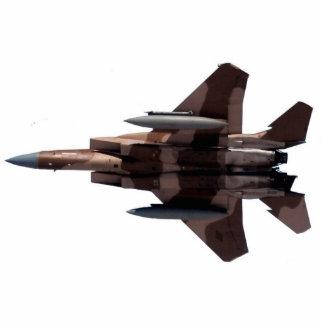 Tan Aggressor F-15 Eagle Statuette