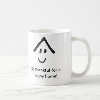 Tan agradecido para una taza casera feliz
