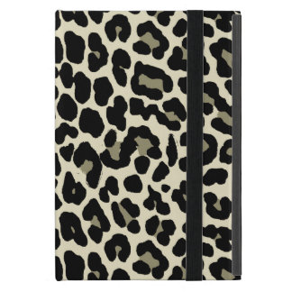 Tan and Coffee Leopard Print Pattern Cover For iPad Mini