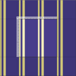 [ Thumbnail: Tan and Dark Slate Blue Stripes/Lines Pattern Fabric ]