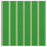 [ Thumbnail: Tan and Green Striped/Lined Pattern Fabric ]