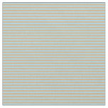[ Thumbnail: Tan and Light Blue Lines Pattern Fabric ]