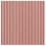 [ Thumbnail: Tan and Maroon Stripes Pattern Fabric ]