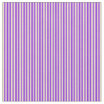 [ Thumbnail: Tan and Purple Lines Fabric ]