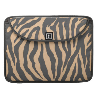 Tan and Tantalizing Tiger Skins Sleeves and Cases Sleeve For MacBook Pro