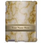 Tan and White Marble
