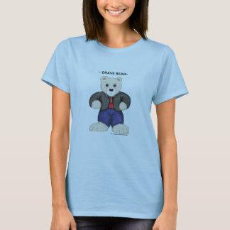 Tan Brave Bear t-shirt
