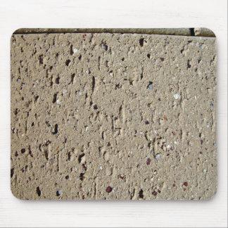 Tan Brick Texture Mousepad