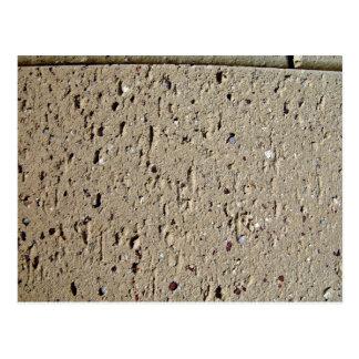 Tan Brick Texture Postcard