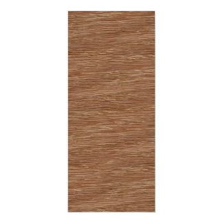 Tan Brown Natural Oak Wood Grain Look Card