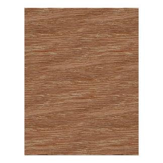 Tan Brown Natural Oak Wood Grain Look Flyer