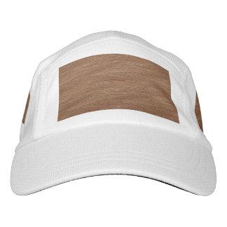 Tan Brown Natural Oak Wood Grain Look Headsweats Hat