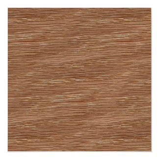 Tan Brown Natural Oak Wood Grain Look Magnetic Card