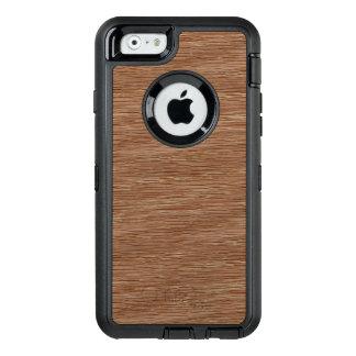 Tan Brown Natural Oak Wood Grain Look OtterBox iPhone 6/6s Case