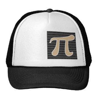 Tan Brown Pi symbol Trucker Hat