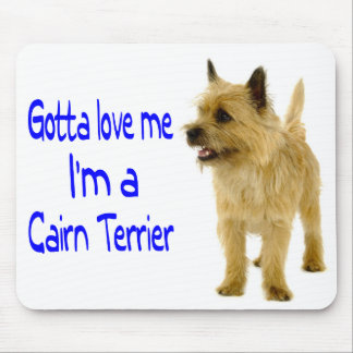 Tan Cairn Terrier Puppy Dog Love Mousepad