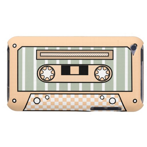 Tan Cassette Tape iPod Touch Cover