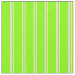 [ Thumbnail: Tan & Chartreuse Colored Stripes Fabric ]