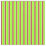 [ Thumbnail: Tan, Chartreuse, Yellow & Dark Red Colored Lines Fabric ]