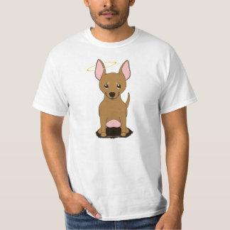 Tan Chihuahua Angel Halo Shirt
