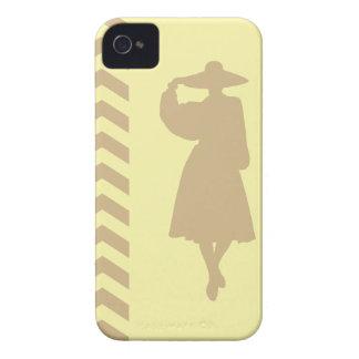 Tan Cream Neutral Chevrons Fashion iPhone 4 Cases