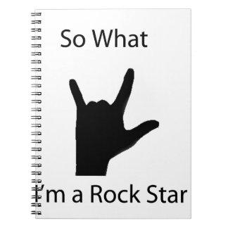 Tan cuál soy una estrella del rock