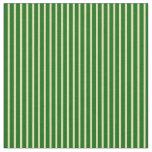 [ Thumbnail: Tan & Dark Green Pattern Fabric ]