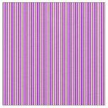 [ Thumbnail: Tan & Dark Violet Lines/Stripes Pattern Fabric ]