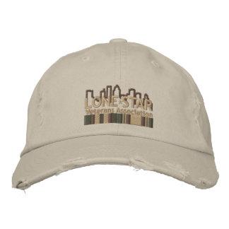 Tan Distressed Logo Hat