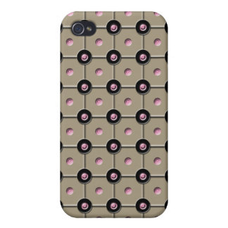 Tan Dot  Case For iPhone 4