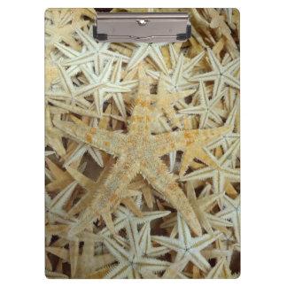 Tan Dried Starfish Clipboard
