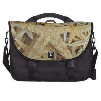 Tan Dried Starfish Bag For Laptop