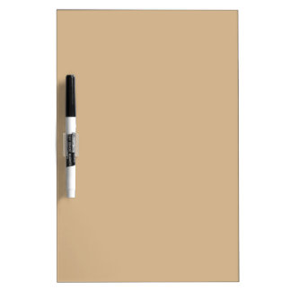 Tan Dry-Erase Whiteboard